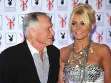 Hugh Hefner en Crystal Harris trouwen tijdens Oudejaarsnacht