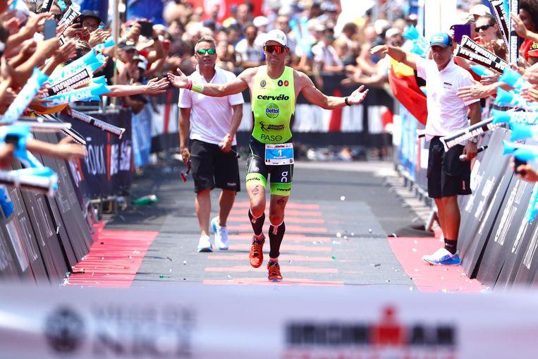 Frederik Van Lierde werd derde in 'zijn' Ironman van Nice.