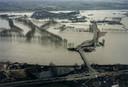 December 1993 was de schade enorm toen de Maas buiten haar oevers trad.