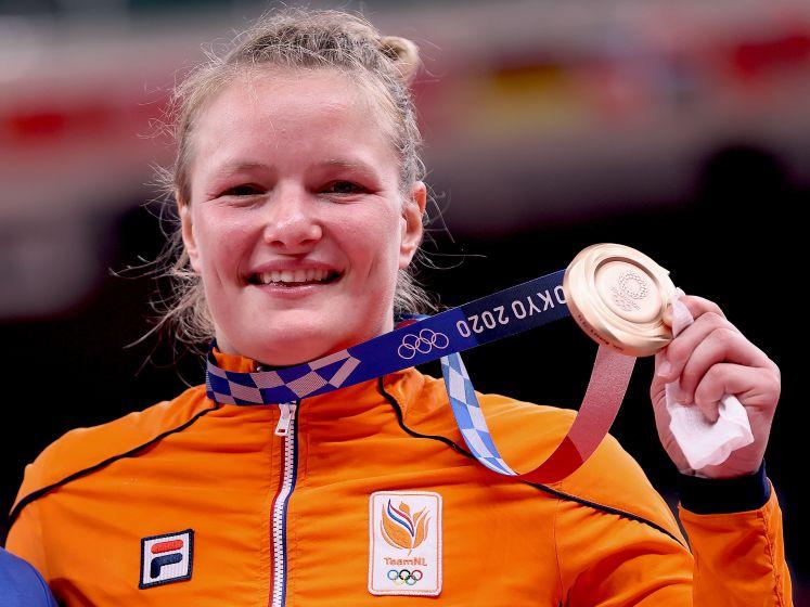 Judoka Van Dijke draagt bronzen medaille op aan overleden broer