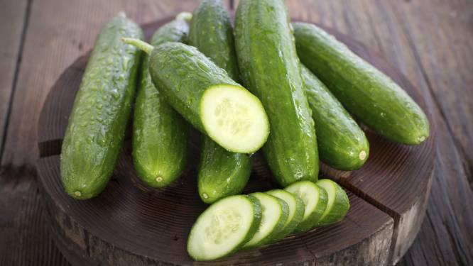 Daarom moet je een komkommer pletten voor je 'm eet