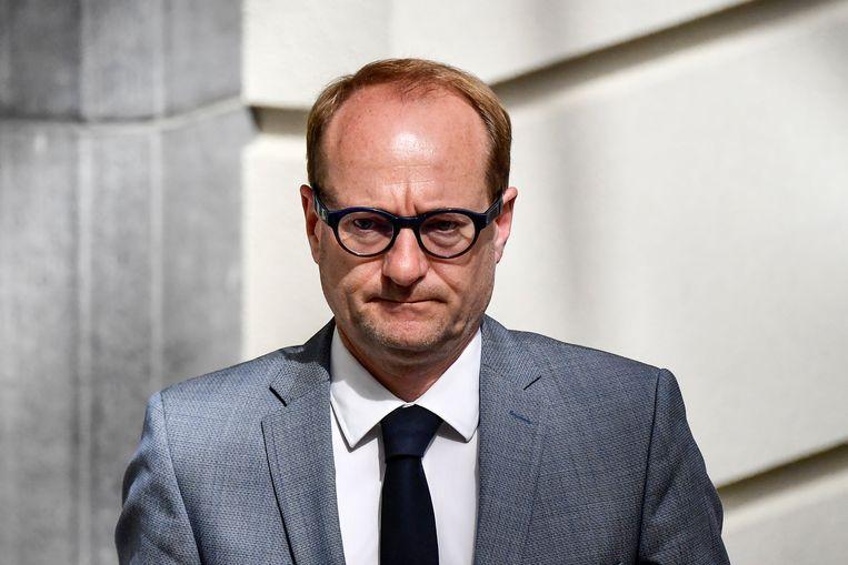 Vlaams minister van Onderwijs Ben Weyts (N-VA) wil volgende week op een interministeriële conferentie met de andere gemeenschappen een datum proberen af te spreken over wanneer de scholen weer opengaan. Beeld BELGA