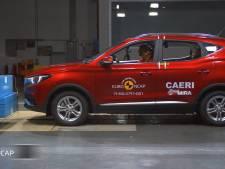 Chinese elektrische SUV komt verbazingwekkend goed uit crashtest EuroNCAP