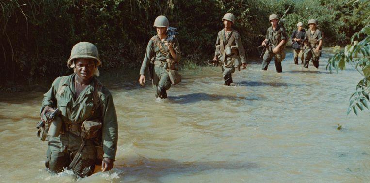 Still uit 'The Vietnam War'. Beeld Netflix