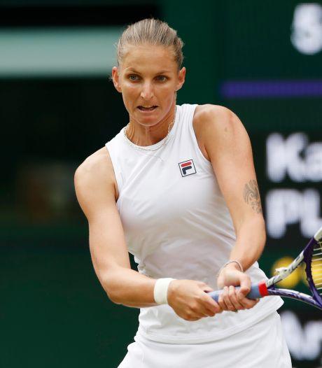 Pliskova vecht zich terug en treft Barty in finale Wimbledon