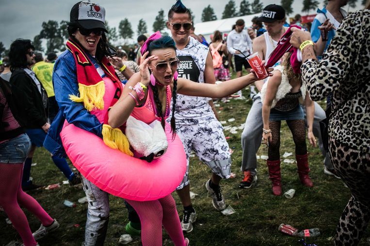 Kamping Kitsch Club, 'het marginaalste festival van het land'. Beeld BAS BOGAERTS