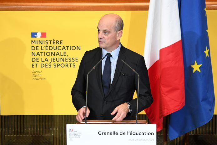 Le ministre français de l'Éducation, Jean-Michel Blanquer