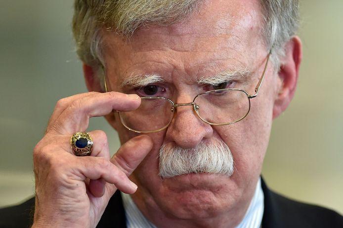 Voormalig nationaal veiligheidsadviseur John Bolton.