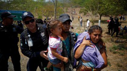 Onder druk van Trump: Mexico zet honderden migranten vast