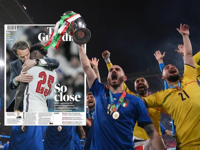 """""""Italië heeft van de Three Lions welpjes gemaakt"""": Engelse pers likt wonden na 'bittere ironie' in EK-finale, Italianen zijn lyrisch"""