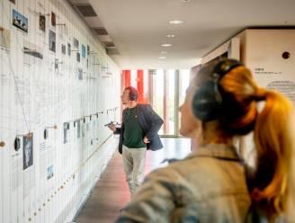 Tijdslijnwand over klankkunst wordt nieuwste publiekstrekker voor Brugs Concertgebouw