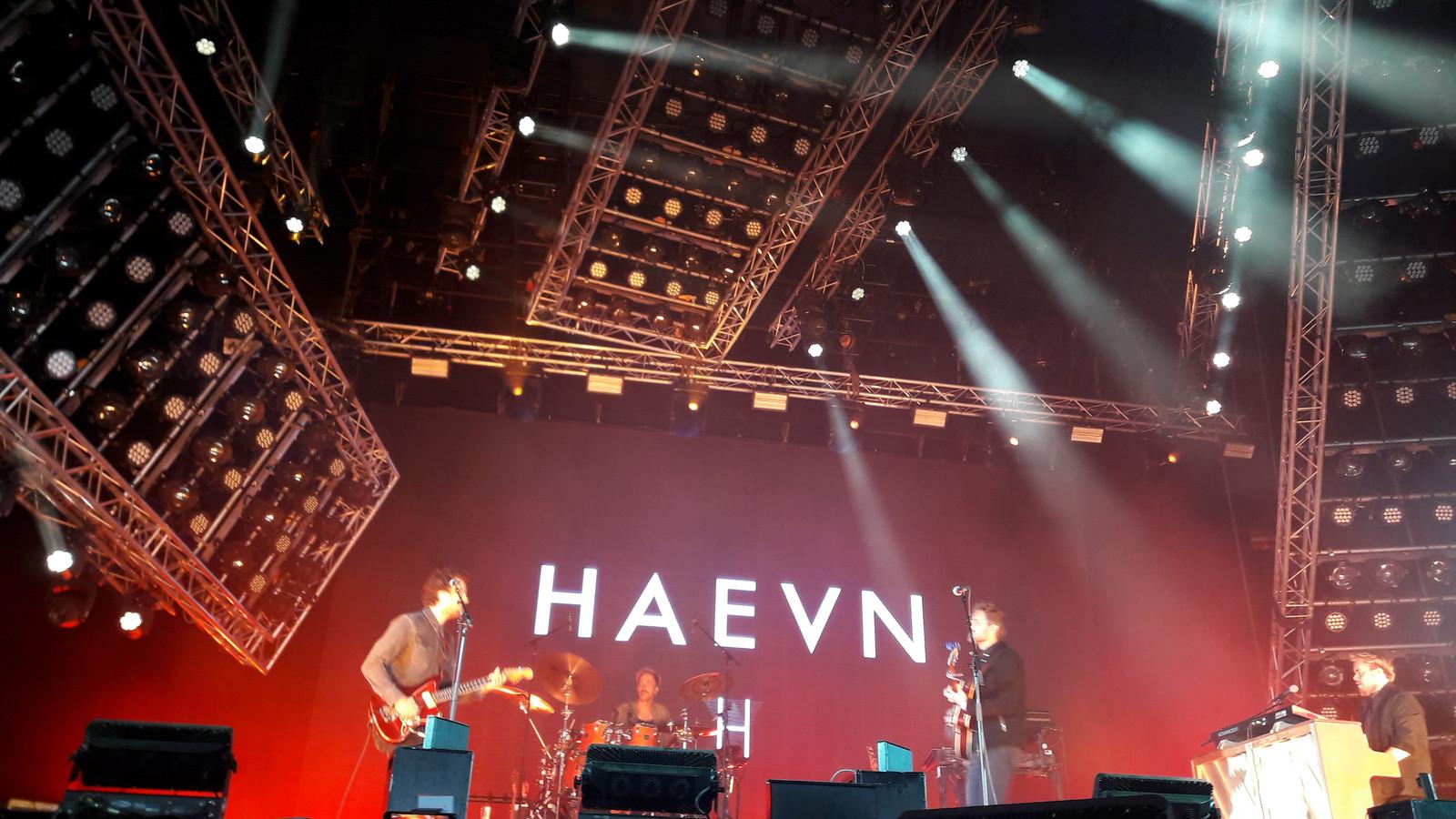 HAEVN op Appelpop 2018.