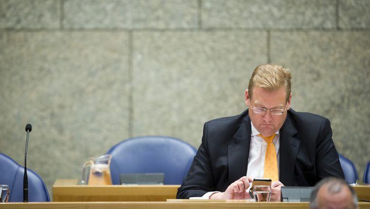 Minister Ard van der Steur zegt niet te schrikken van het kritische rechercherapport. Beeld anp