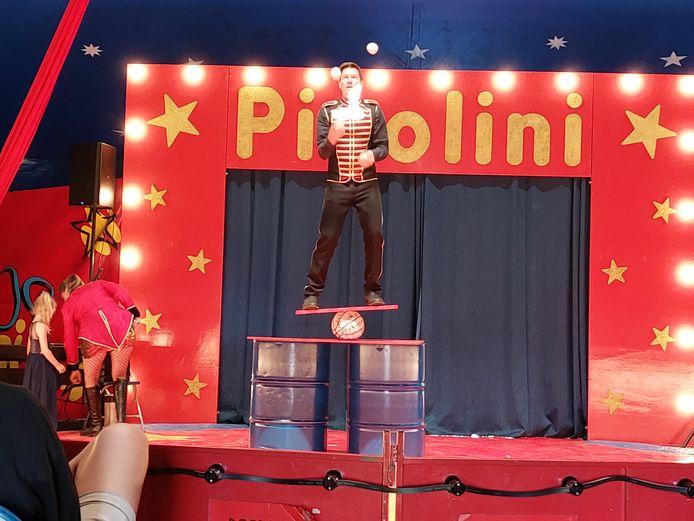 De vestigingen van VBS De Kastanje uit Proven en Krombeke pakten dit weekend uit met hun circusvoorstelling 'Circus De Kastanje'. De circusdirecteur van familiecircus Picolini leerde de kinderen de kneepjes van het vak.