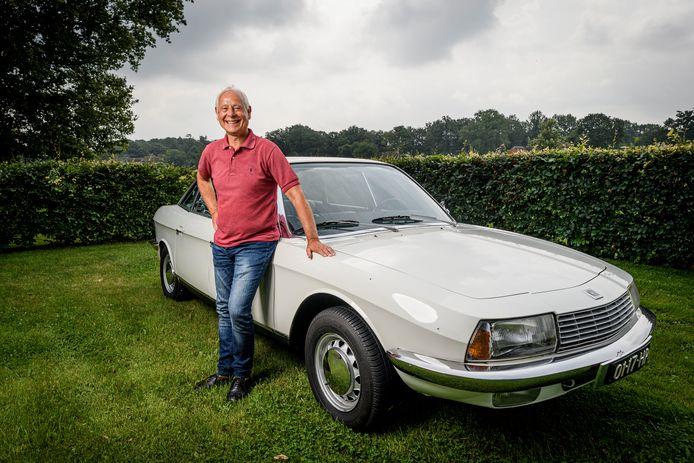 Henk Boode en zijn  NSU Ro 80.