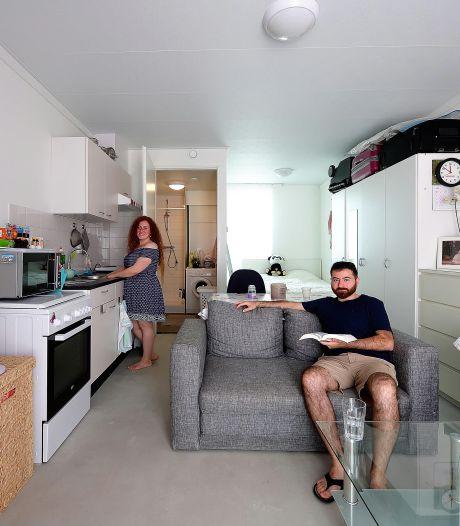 Twintig tiny houses voor spoedzoekers Etten-Leur:  'Meer Center Parcs dan containerwoning'