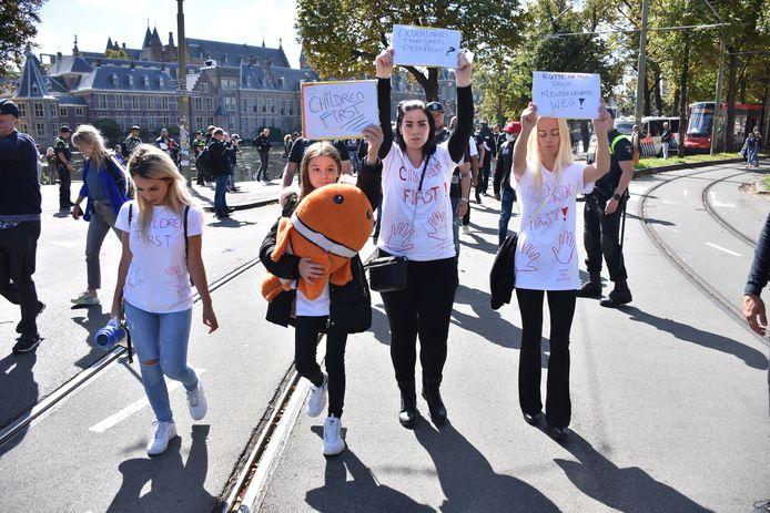Demonstratie tegen PNVD