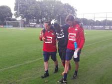 Abubakar loopt blessure op bij training Willem II