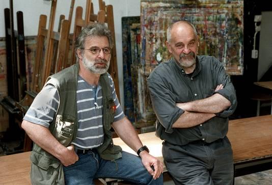 Karel Koopman en Piet Hohmann.