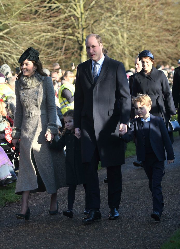 Kate Middleton, la princesse Charlotte, le prince William et le prince George