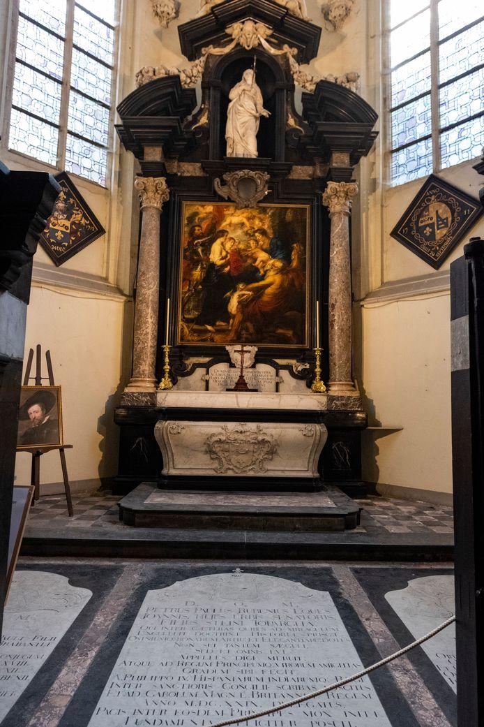 De grafkelder van de familie Rubens