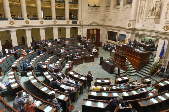 Archiefbeeld. Federaal Parlement.