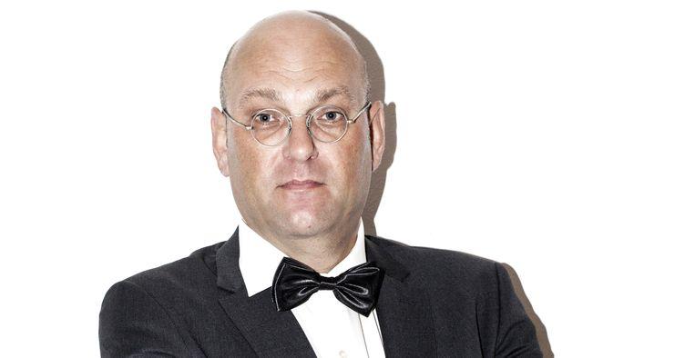 Hans van der Beek. Beeld -