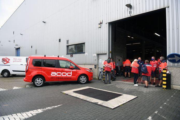 In het bpost-distributiecentrum Zaventem, dat in Kortenberg ligt, brak enkele weken geleden een staking uit.