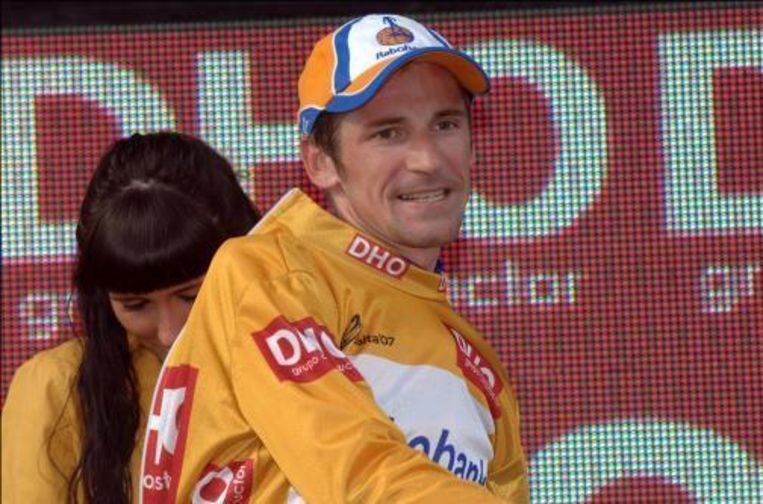 Denis Menchov zal zichzelf dit jaar niet opvolgen als winnaar van de Vuelta. Beeld UNKNOWN