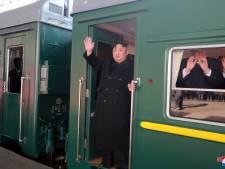 Kim Jong-un reist 4.500 kilometer in gepantserde trein naar top met Trump