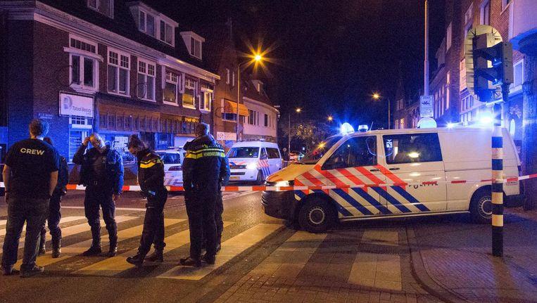 Nick Bood werd neergestoken op de A.F. de Savornin Lohmanstraat in Zaandam. Beeld ANP