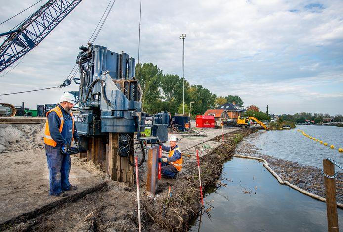 De eerste voorbereidingen worden getroffen voor de aanleg van de nieuwe A16.