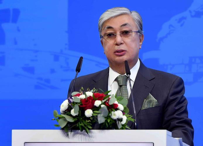 Kassym-Jomart Tokayev, de nieuwe president van Kazachstan.