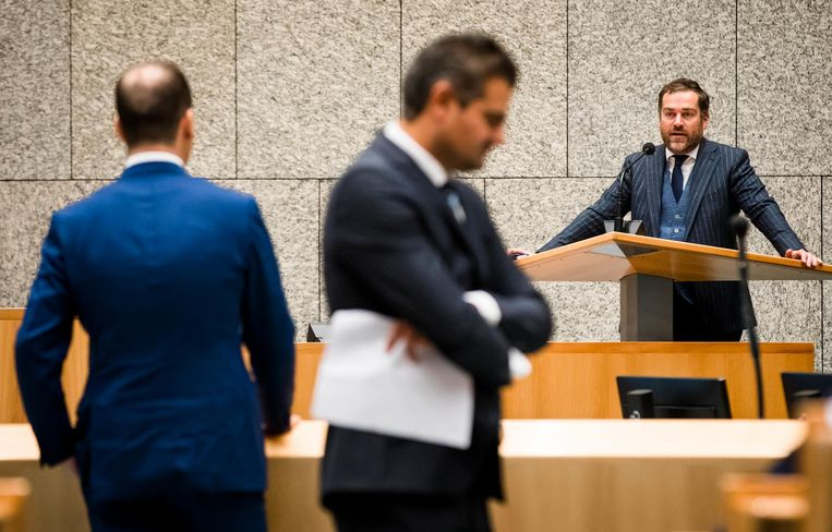 Dijkhoff in de Tweede Kamer Beeld anp