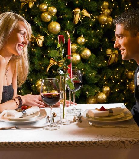 Restaurants zitten vol met de kerst, maar na even zoeken is er wel een tafeltje