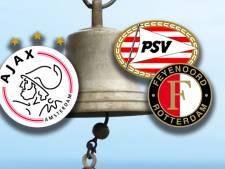 Ook top 3 wankelt: Ajax, PSV en Feyenoord luiden noodklok