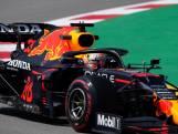 Verstappen onderbreekt snelle run en bedreigt Mercedes niet