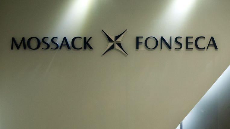 Logo van het Panamese advocatenkantoor Mossack Fonseca. Beeld anp