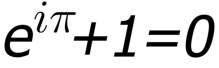 De identiteit van Euler is volgens wiskundigen de mooiste.