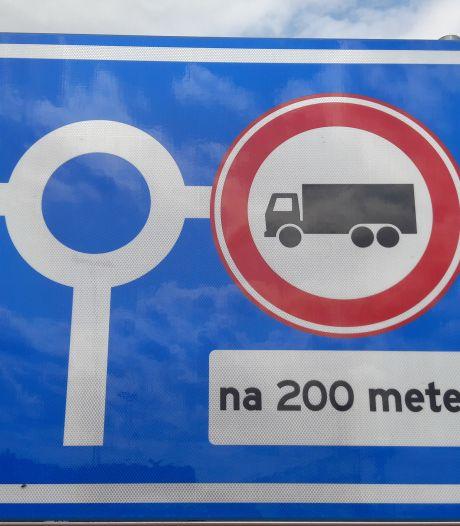 Sluip- en vrachtverkeer Zevenbergschen Hoek lijkt afgenomen, maar nog steeds overlast
