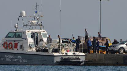Boot met dertigtal migranten loopt vast ten zuiden van Griekenland