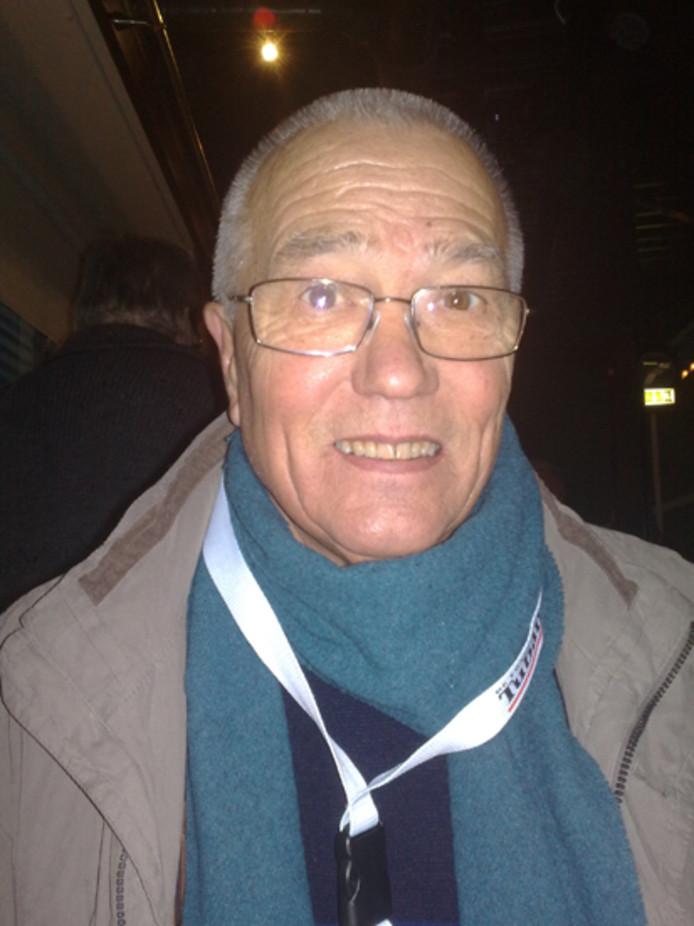 Wolfram Arnthof, jarenlang rapporteur van 'Thuis in de eredivisie'voor De Twentsche Courant Tubantia