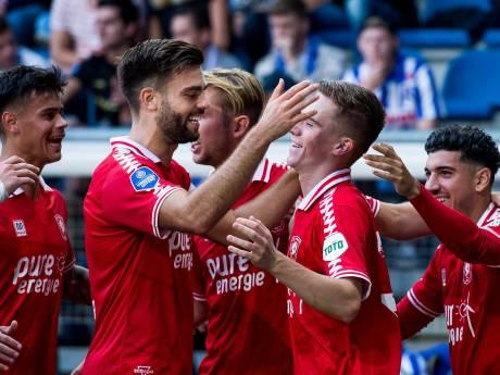 FC Twente maakt het zichzelf nog veel te moeilijk tegen Heerenveen, maar pakt wel vierde zege op rij
