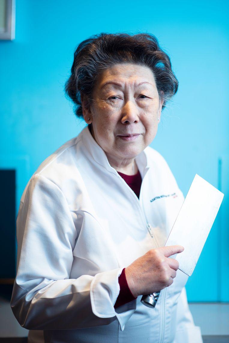 Chef-kok Sui Wan Yuen - Ko. Beeld Els Zweerink
