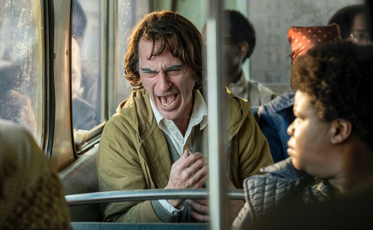 Joaquin Phoenix in 'Joker' Beeld Humo