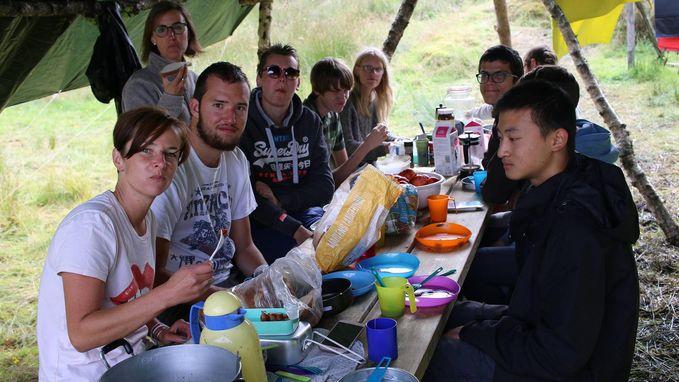 Jongeren van vzw De Kade op inclusiekamp in Noorwegen