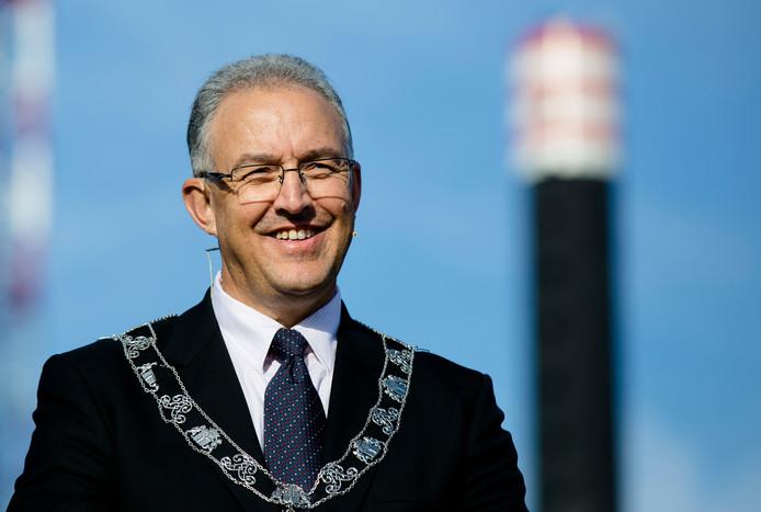 Burgemeester Ahmed Aboutaleb komt naar Hoek van Holland.