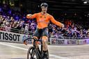 Harry Lavreysen pakt zijn derde wereldtitel op het WK