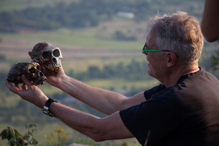 De nieuwe televisieserie van wetenschapsjournalist Govert Schilling (64) is sinds vrijdagavond te zien. Beeld Herrie