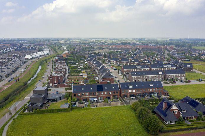 Etten Leur - Pix4Profs - Joris Buijs Nieuwbouwwijk Schoenmakershoek is één van de laatste uitbreidingslocaties van Etten-Leur, maar Etten-Leur bouwt door. Zo is nu de Hoge Haansberg in beeld.